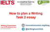 How to plan a Writing Task 2 essay