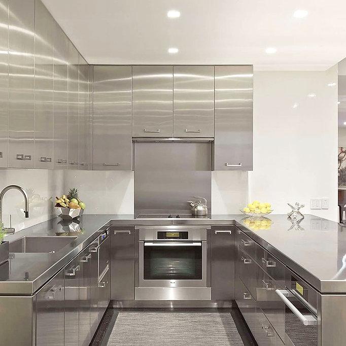Stainless-steel-modular-kitchen-cabinet-