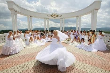 Традиции свадеб в России
