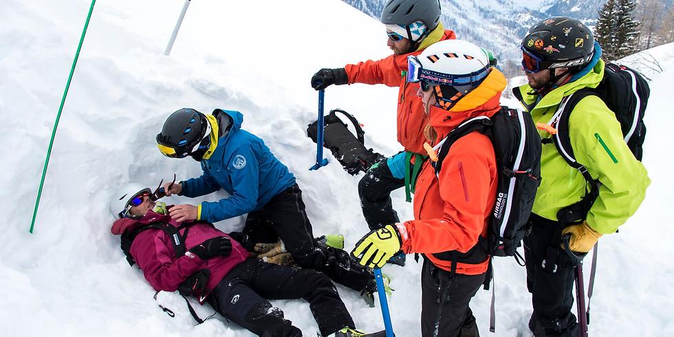 Atelier secours en avalanche