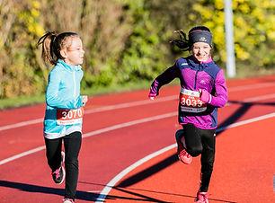 Course de Meyrin U10 enfants heureux