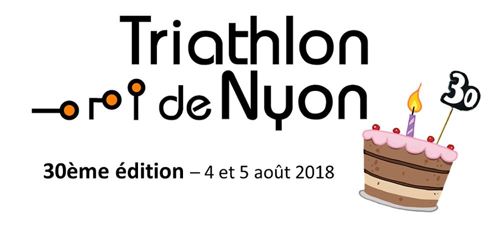 Triathlon de Nyon - Stand Outdooria au village sportif