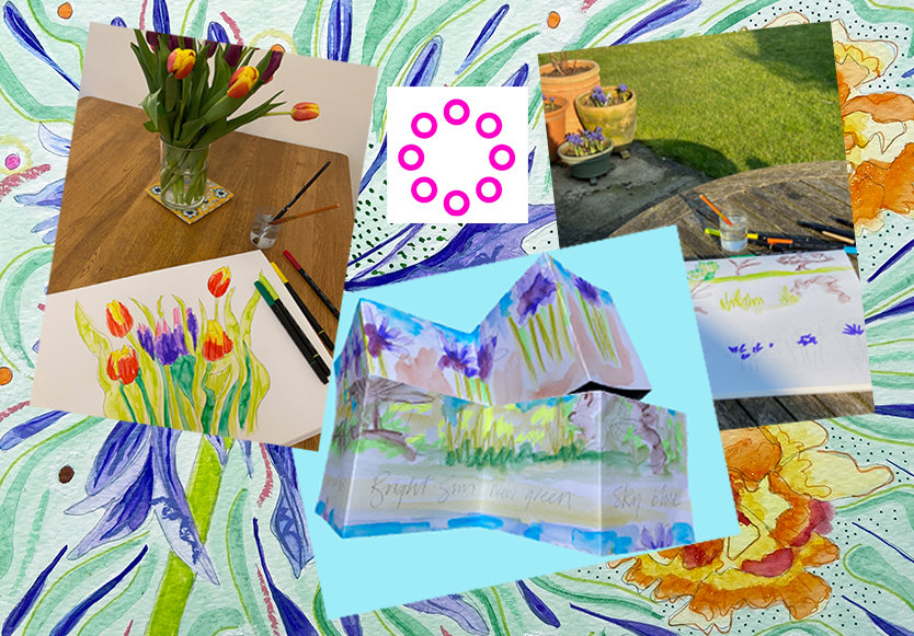 Garden Joy - Art for Wellbeing Sessions