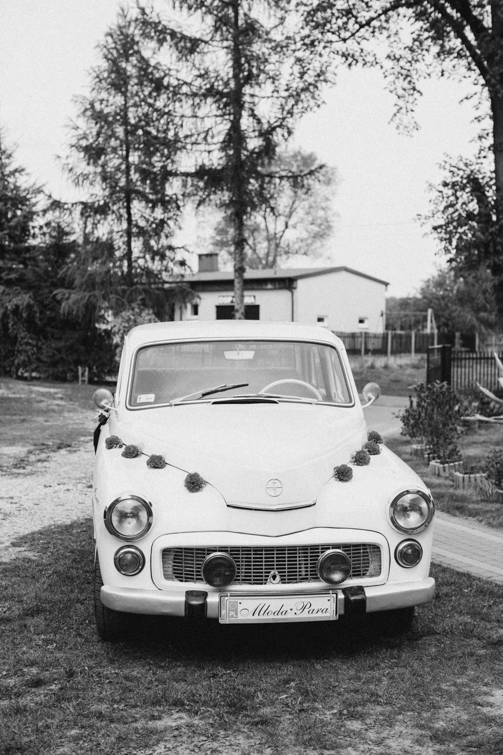 auto do ślubu, warszawa auto