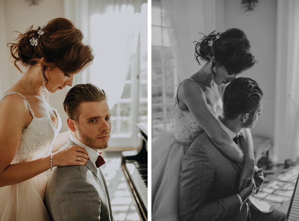 sesja ślubna w Pałacyku w Otwocku, sesja ślubna Pałac Otwock Wielki, Muzeum Wnętrz w Otwocku Wielkim