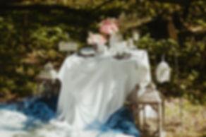 śluby stół
