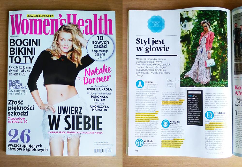 Womens Health - czerwiec 2016
