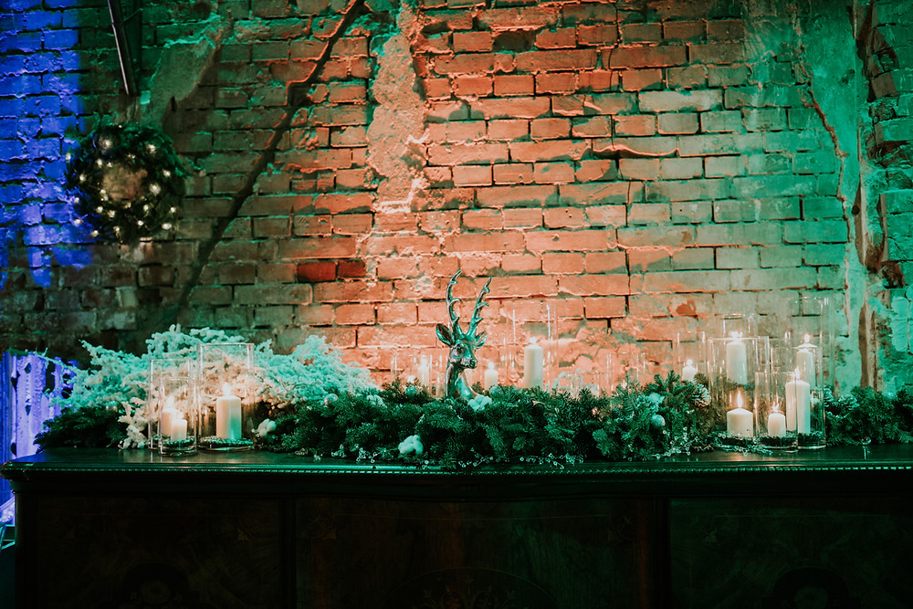 dekoracje ślubne, zimowe dekoracje ślubne, fotograf ślubny warszawa, reduta banku polskiego
