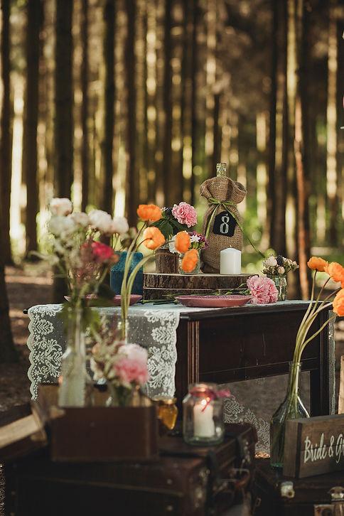 ślub plenerowy dekoracje