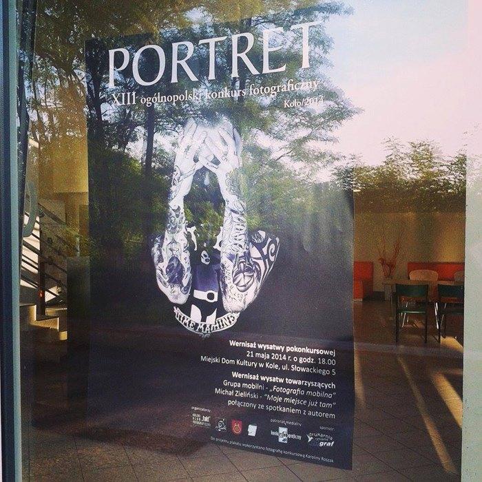 Plakat - Konkurs Portret 2014