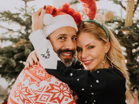 Ewa + Ruben - świąteczna sesja domowa