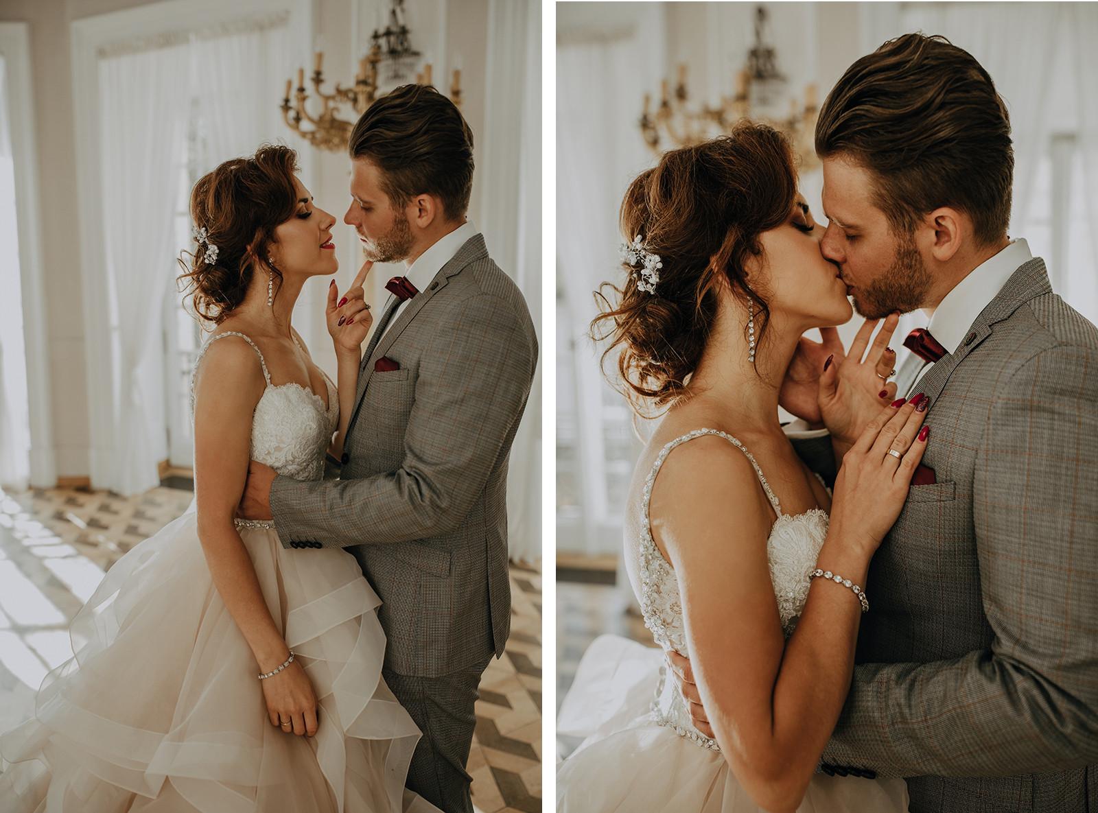 para młoda sesja poślubna, sesja ślubna Pałac Otwock Wielki, Muzeum Wnętrz w Otwocku Wielkim, fotograf ślubny Warszawa