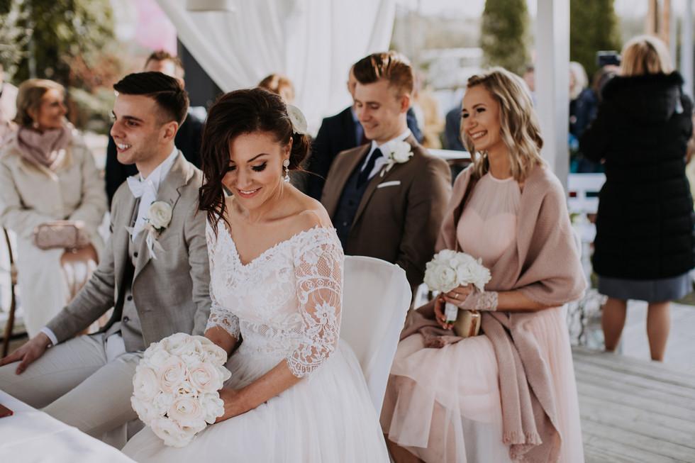 Dworek na Wodoktach - reportaż ślubny