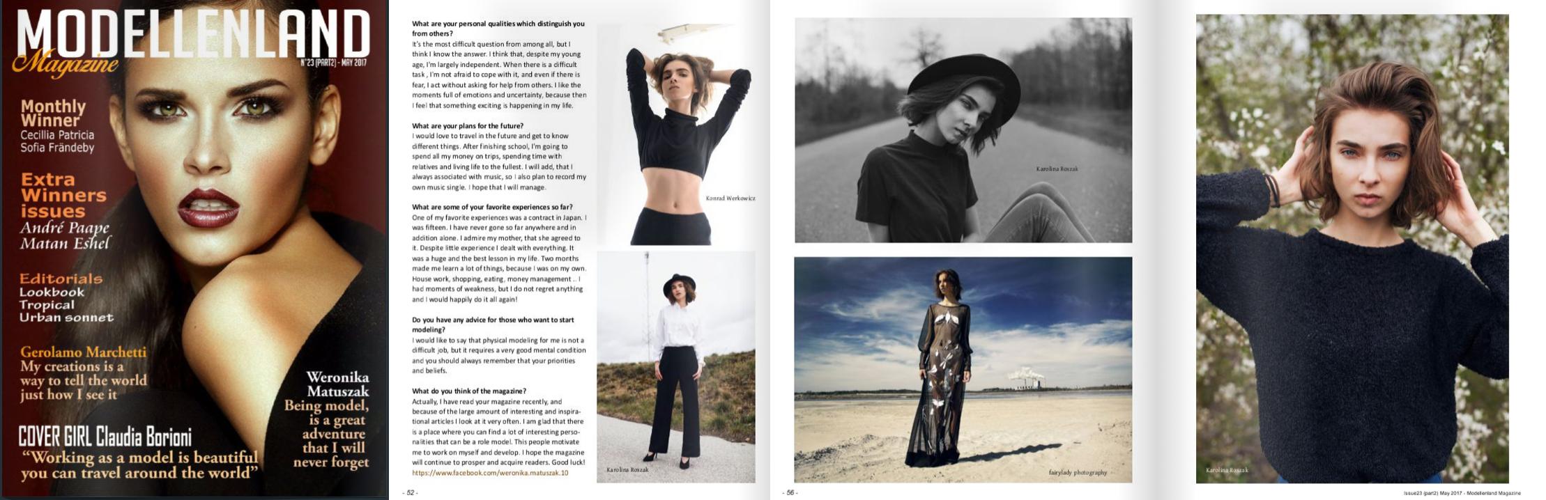 Modellen land magazine - maj 2017