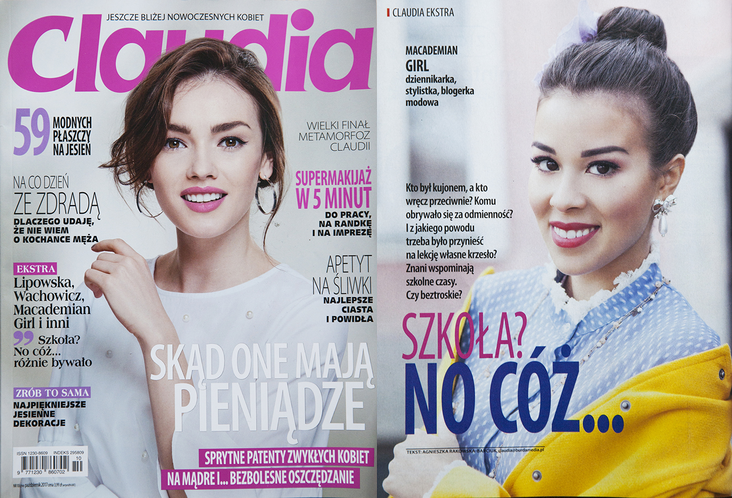 Claudia - październik 2017