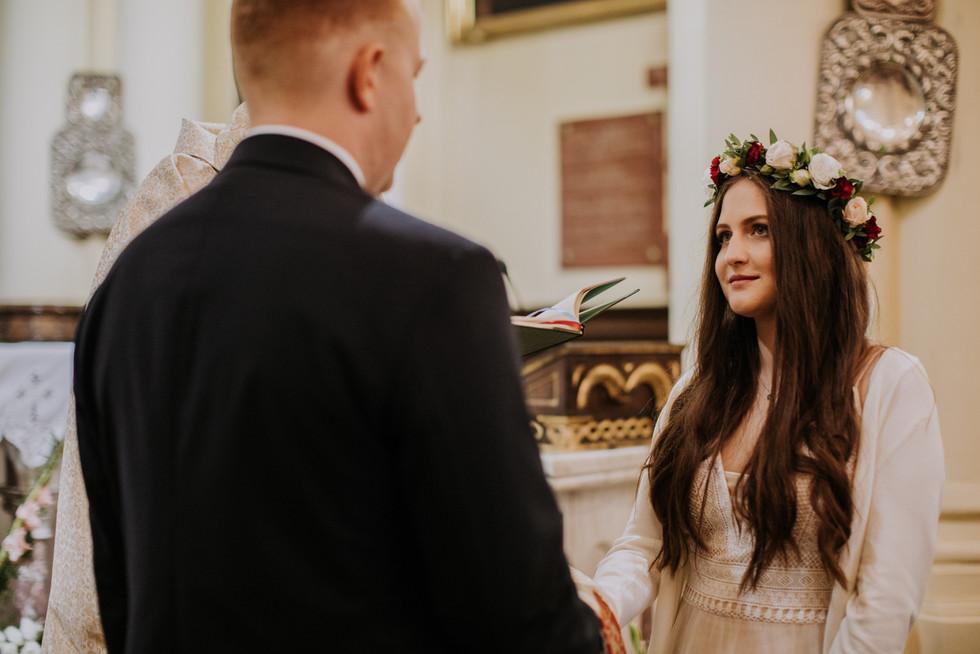 ceremonia ślubna rustykalne wesele warszawa, wymarzone wesele