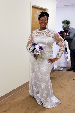 African Lace Gown