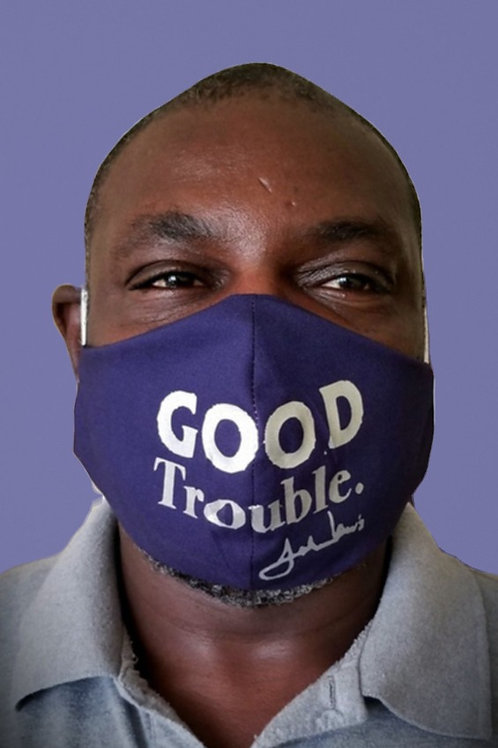Good Trouble -Face Mask