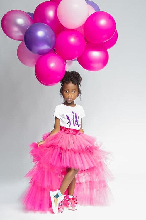 Journei Tulle Maxi Skirt