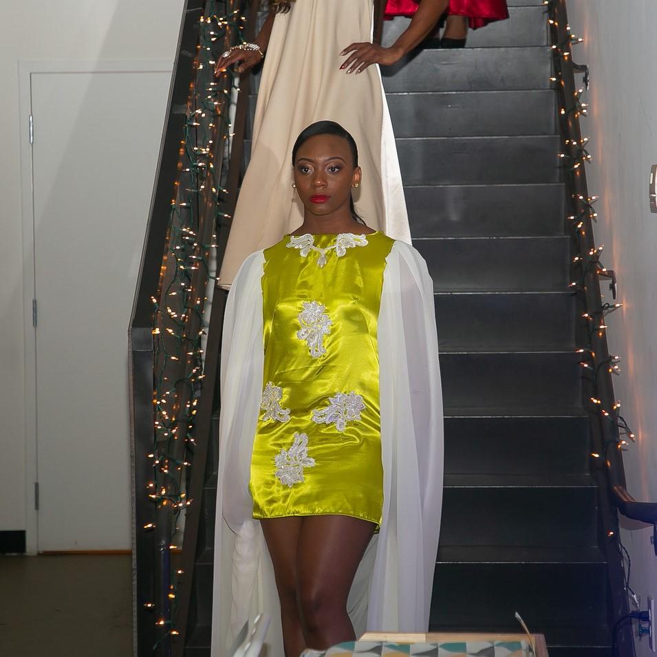 Amber Kimono Sleeve Dress