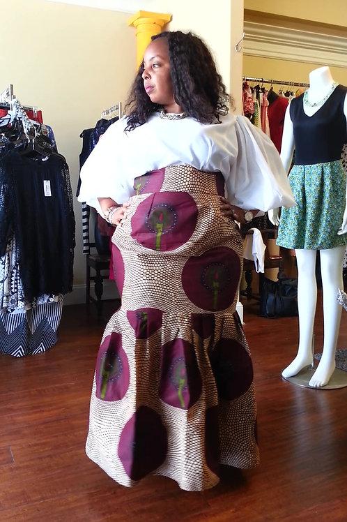 Tiffany-Maxi Skirt