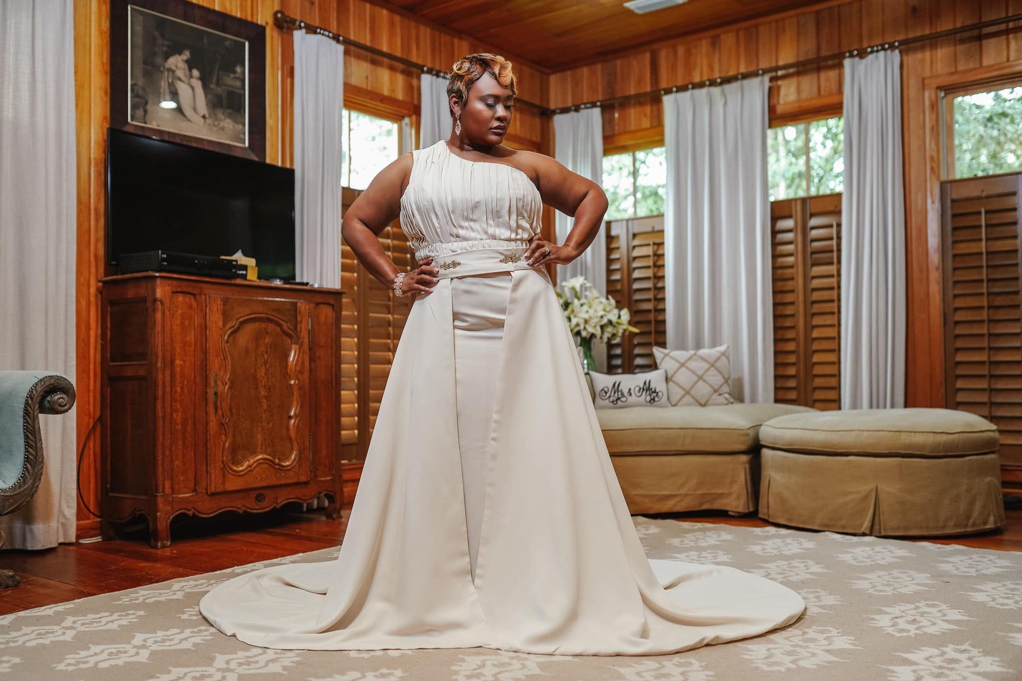 Lady Ingrid Wedding Gown