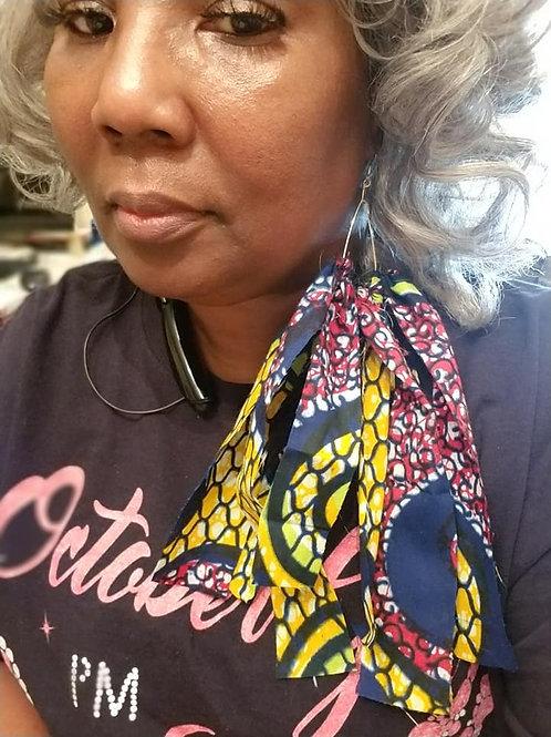 Hoop Earrings-African Inspired