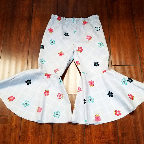 Power Flower Flare Pants