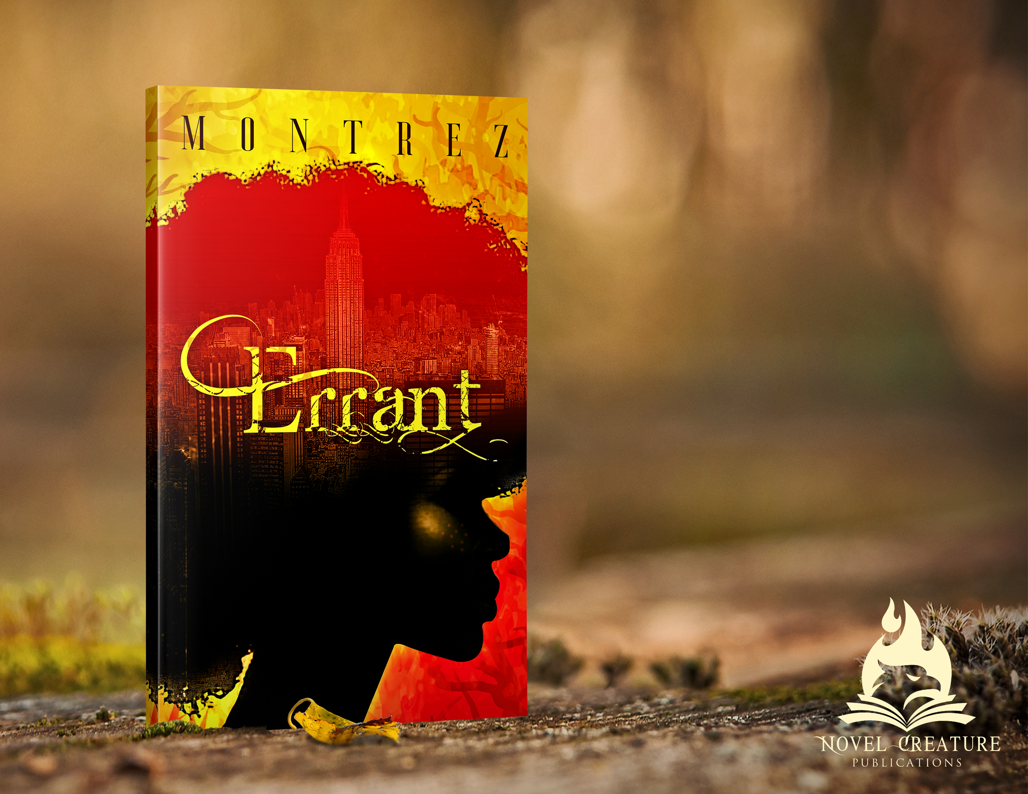 Errant Book Cover Design
