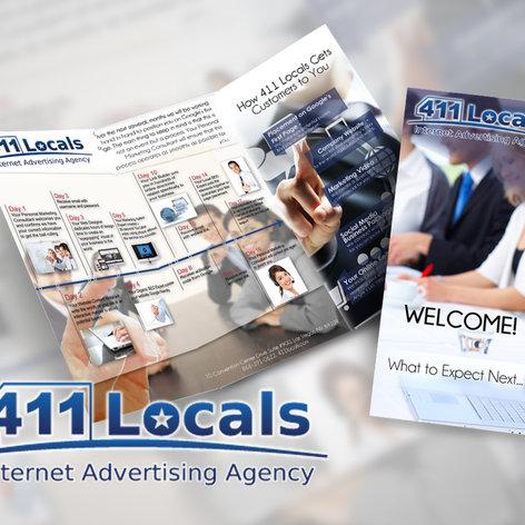 411 Local Brochure Design