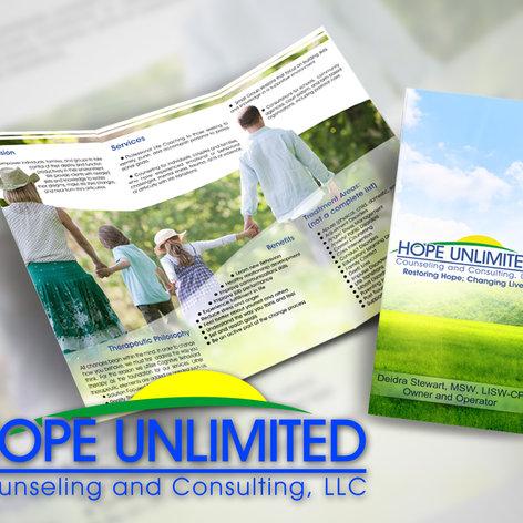 Hope Unlimited Brochure Design