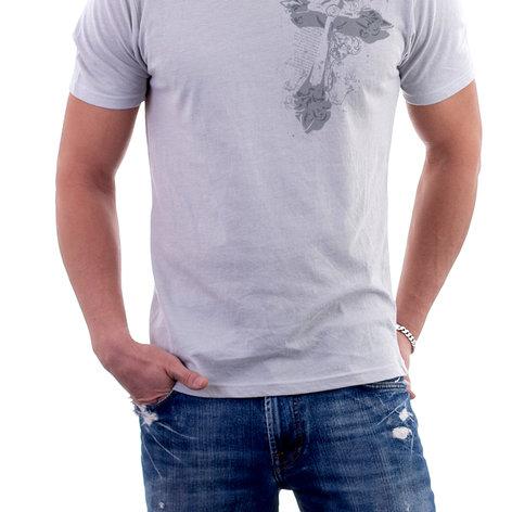 Grunge Cross T-Shirt Design Front