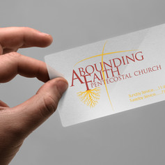 Abounding Faith_Business Card