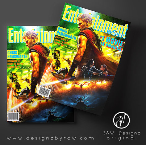 Entertainment Weekly Cover Mockup