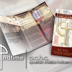 EndTime Brochure Design