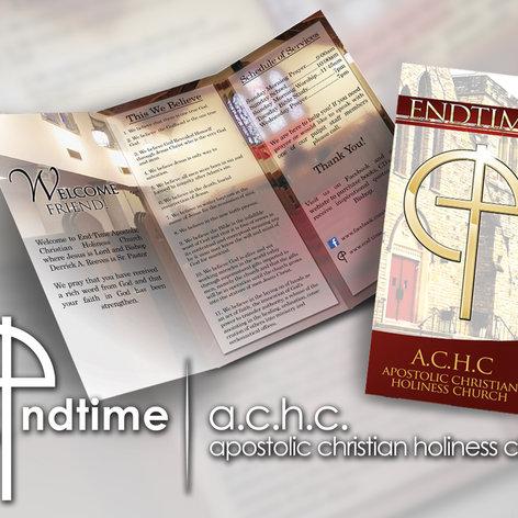 EndTime Brochure Design