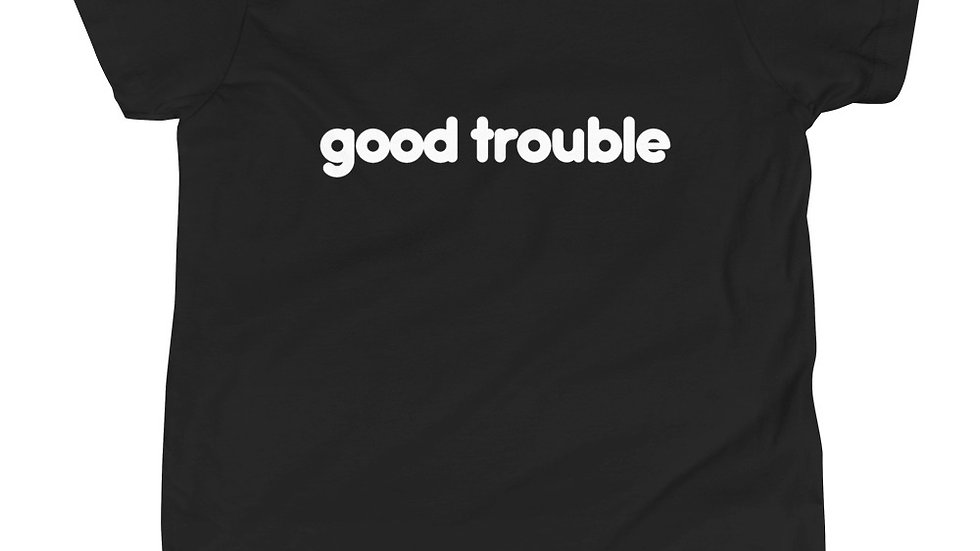 kids good trouble tee