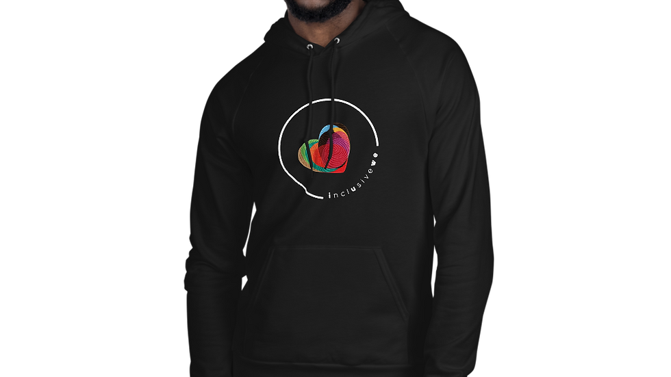 non-binary  fleece hoodie