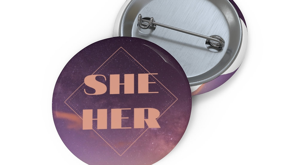 she/her pin