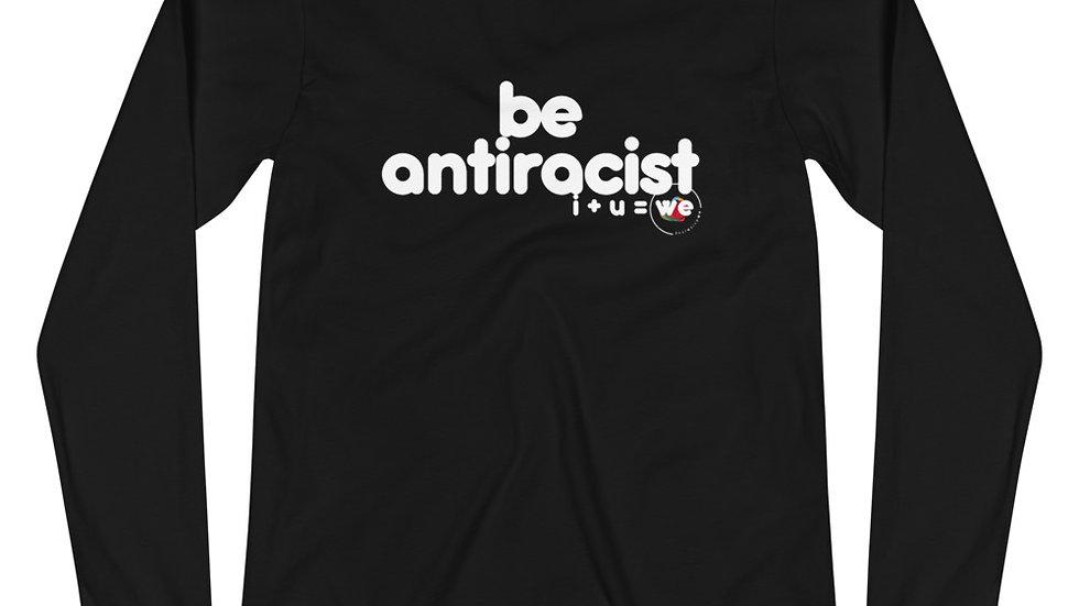 antiracist non-binary long sleeve tee