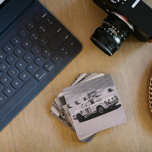 Camisasca CLASSIC '60S RACECAR DRINK COASTER SET - Product Review