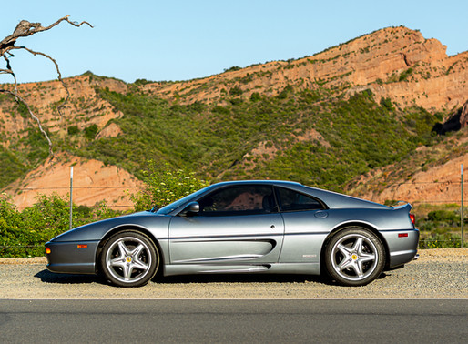 Morning with a Ferrari F355 Berlinetta