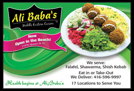 Ali Baba's Magazine Ad