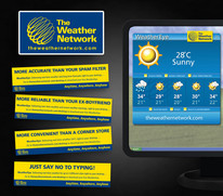 The Weather Network ads