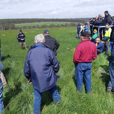 Inaugural field day & future growth