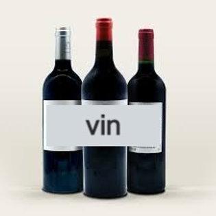 vin  rouge AOP costiere de Nîmes 0.75cl