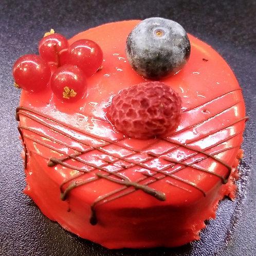 Mousse fruits rouges