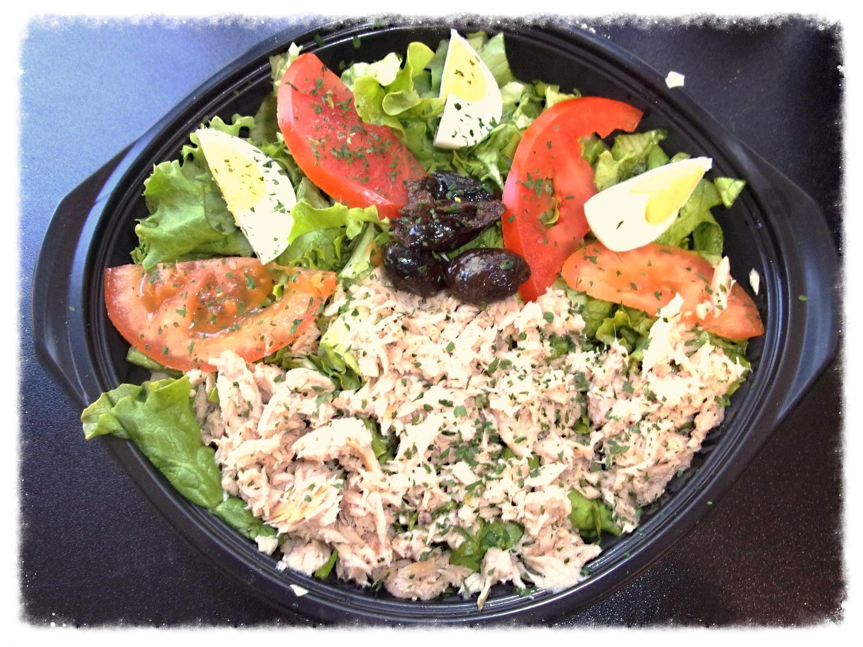 salade thon