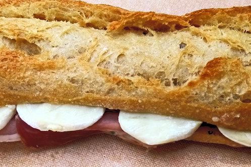 sandwich chèvre jambon cru