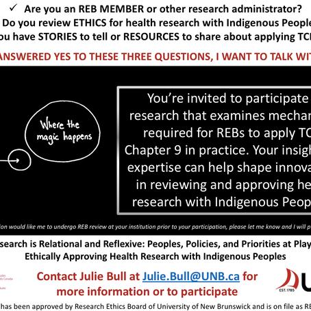 Seeking Participant Contributors